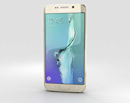 3D model of Samsung Galaxy S6 Edge Plus Gold Platinum