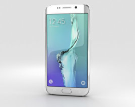 3D model of Samsung Galaxy S6 Edge Plus White Pearl