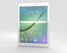3D model of Samsung Galaxy Tab S2 9.7-inch White