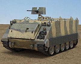 3D model of M113