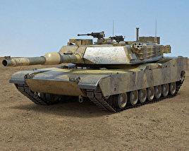 3D model of M1A1 Abrams