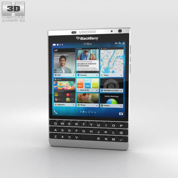 BlackBerry Passport Silver Edition 3D model