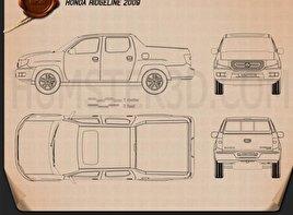 Honda Ridgeline 2009 Blueprint