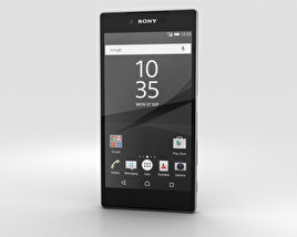 3D model of Sony Xperia Z5 Premium Chrome