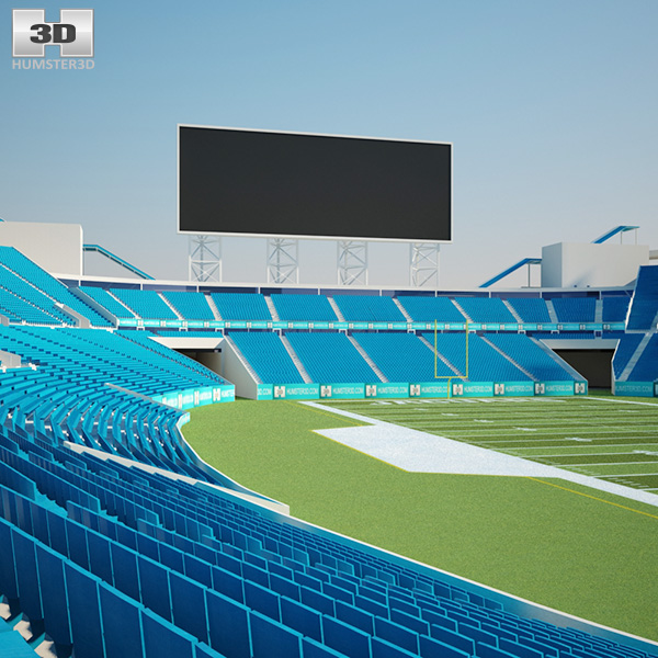 3D model of EverBank Field