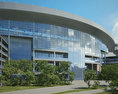 NRG Stadium 3d model