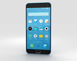 3D model of Meizu M2 Note Blue