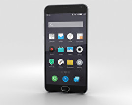 3D model of Meizu M2 Note Gray