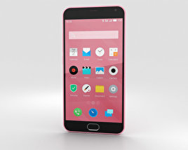 3D model of Meizu M2 Note Pink