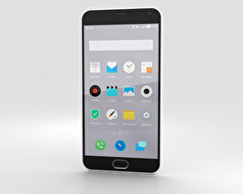 3D model of Meizu M2 Note White