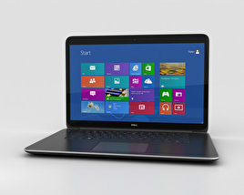 3D model of Dell XPS 15