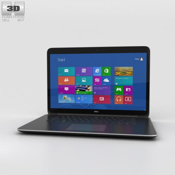 Dell XPS 15 3D model