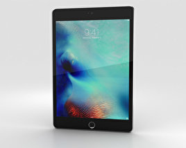 Apple iPad Mini 4 Space Gray 3D model