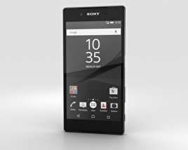3D model of Sony Xperia Z5 Graphite Black