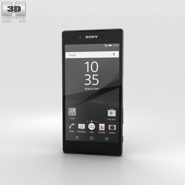 Sony Xperia Z5 Graphite Black 3D model