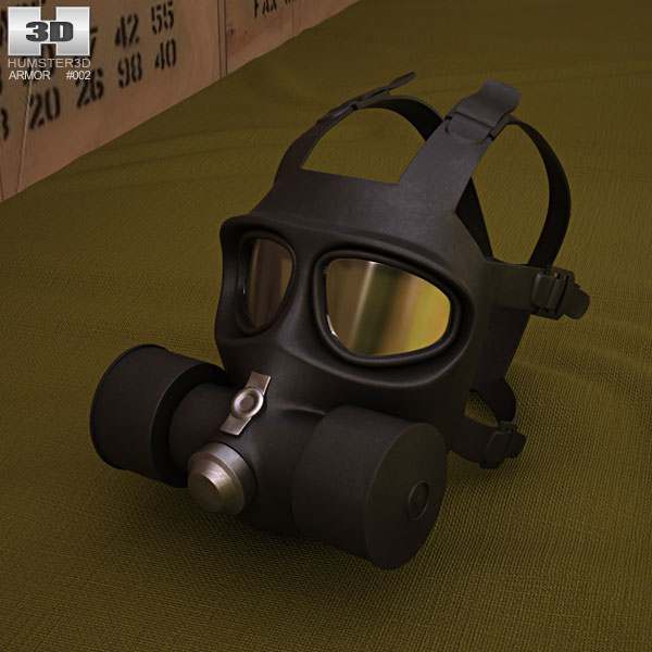 3D model of FG-1 Fire Mask