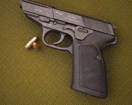 3D model of Walther P5