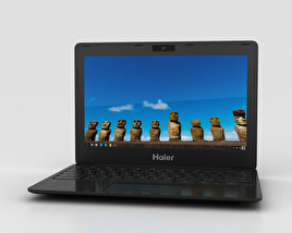 3D model of Haier Chromebook 11 Black