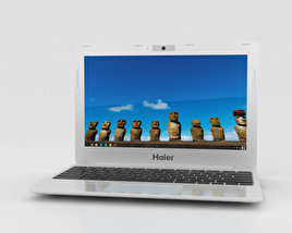 3D model of Haier Chromebook 11 White