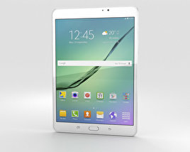 3D model of Samsung Galaxy Tab S2 8.0 Wi-Fi White