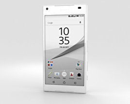 3D model of Sony Xperia Z5 Compact White
