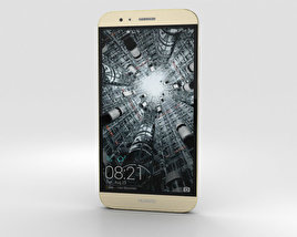 3D model of Huawei G8 Gold