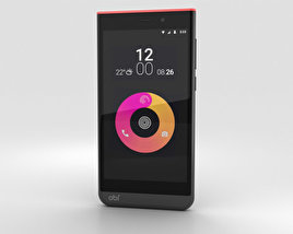 3D model of Obi Worldphone SJ1.5 Black/Red