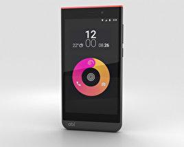 Obi Worldphone SJ1.5 Black/Red 3D model