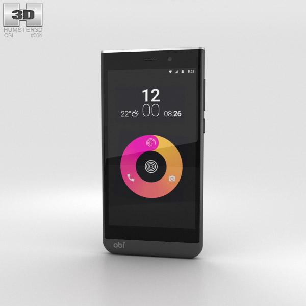 Obi Worldphone SJ1.5 Black/Weiß 3D-Modell