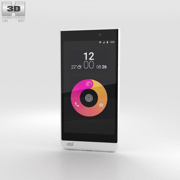 Obi Worldphone SJ1.5 Weiß 3D-Modell