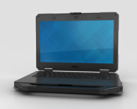 3D model of Dell Latitude 14 Rugged