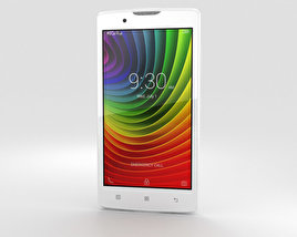 3D model of Lenovo A2010 Pearl White