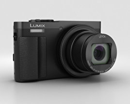 3D model of Panasonic Lumix DMC-TZ70 Black