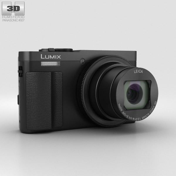 Panasonic Lumix DMC-TZ70 Schwarz 3D-Modell