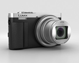 3D model of Panasonic Lumix DMC-TZ70 Silver