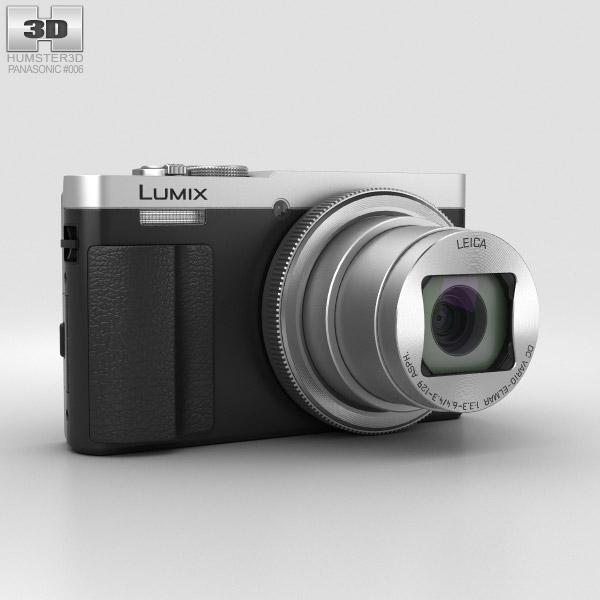 Panasonic Lumix DMC-TZ70 Silver 3D model