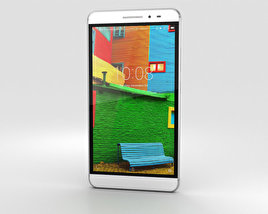 3D model of Lenovo Phab Plus Titanium Silver