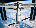 International Space Station 3d model
