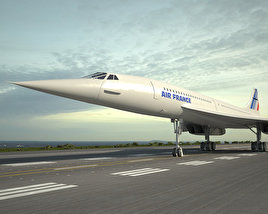 Aerospatiale-BAC Concorde 3D model