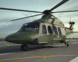 3D model of AgustaWestland AW139