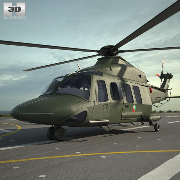 3D model of AgustaWestland AW139
