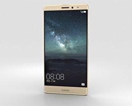 Huawei Mate S Luxurious Gold 3D模型