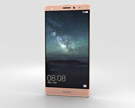 3D model of Huawei Mate S Rose Gold