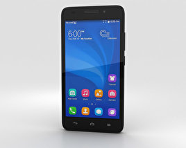 3D model of Huawei Honor 4 Play Black