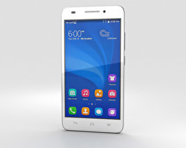 3D model of Huawei Honor 4 Play White