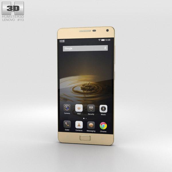 Lenovo Vibe P1 Gold 3D model