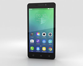 3D model of Lenovo Vibe P1m Onyx Black