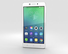 3D model of Lenovo Vibe P1m Pearl White