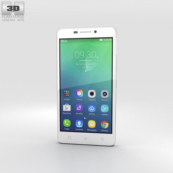 Lenovo Vibe P1m Pearl White 3D model