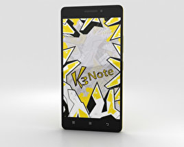 Lenovo K3 Note Yellow 3D model